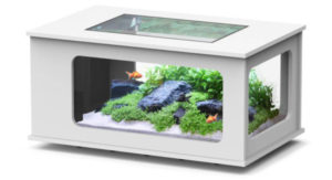 table basse aquarium pas cher LED