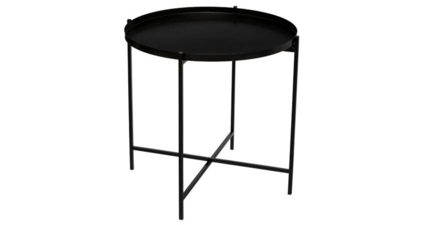 table basse bistro noire