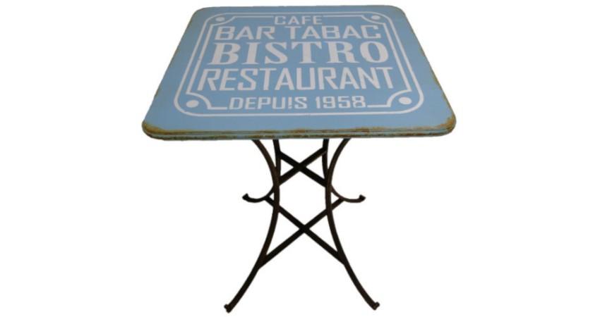 table basse bistro restaurant-bar
