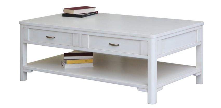 table basse design en bois style ancien