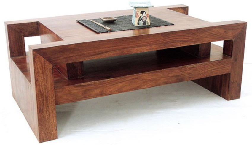 table basse japonaise en palissandre massif faite main
