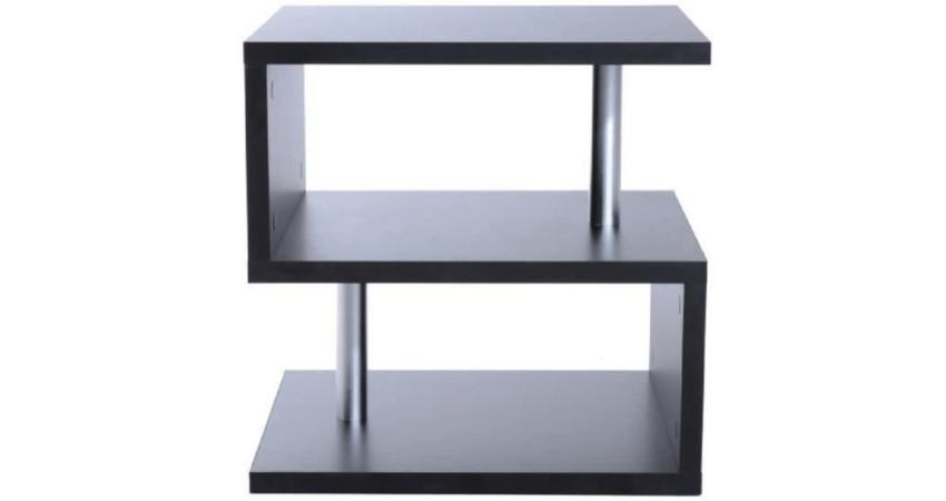 table basse noire pas cher petite