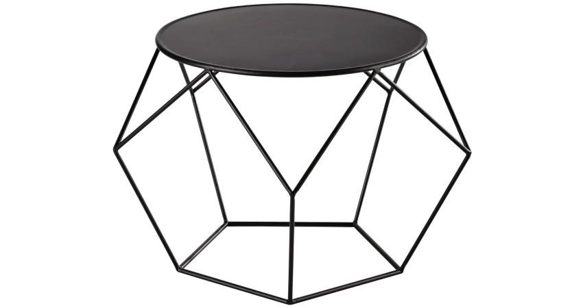 table basse noire pas cher design