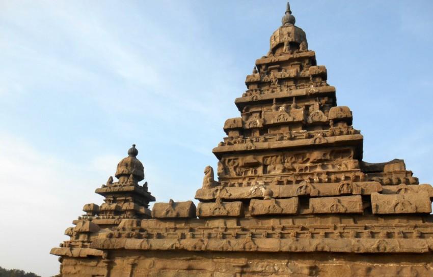 temple du rivage en inde