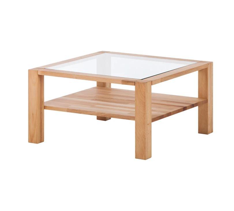 Table basse vitrine