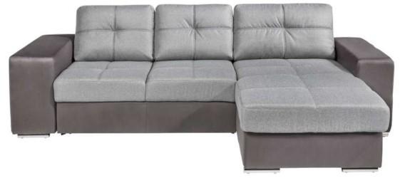 canapé d'angle convertible à tiroir