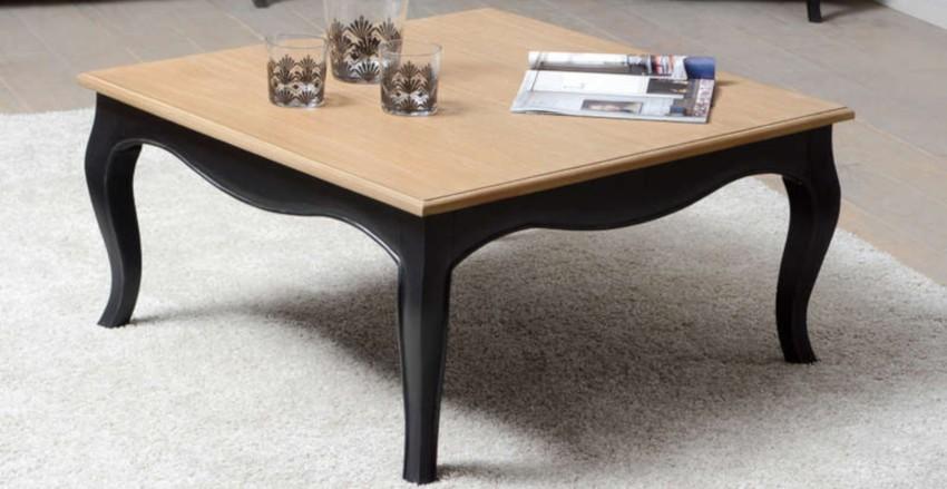 table basse carrée baroque pas cher
