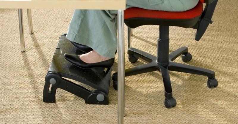 Repose-pieds de bureau