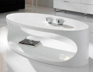 table-basse-ovale