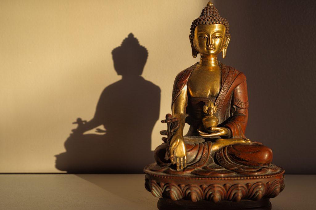 status de bouddha pour déco salon zen
