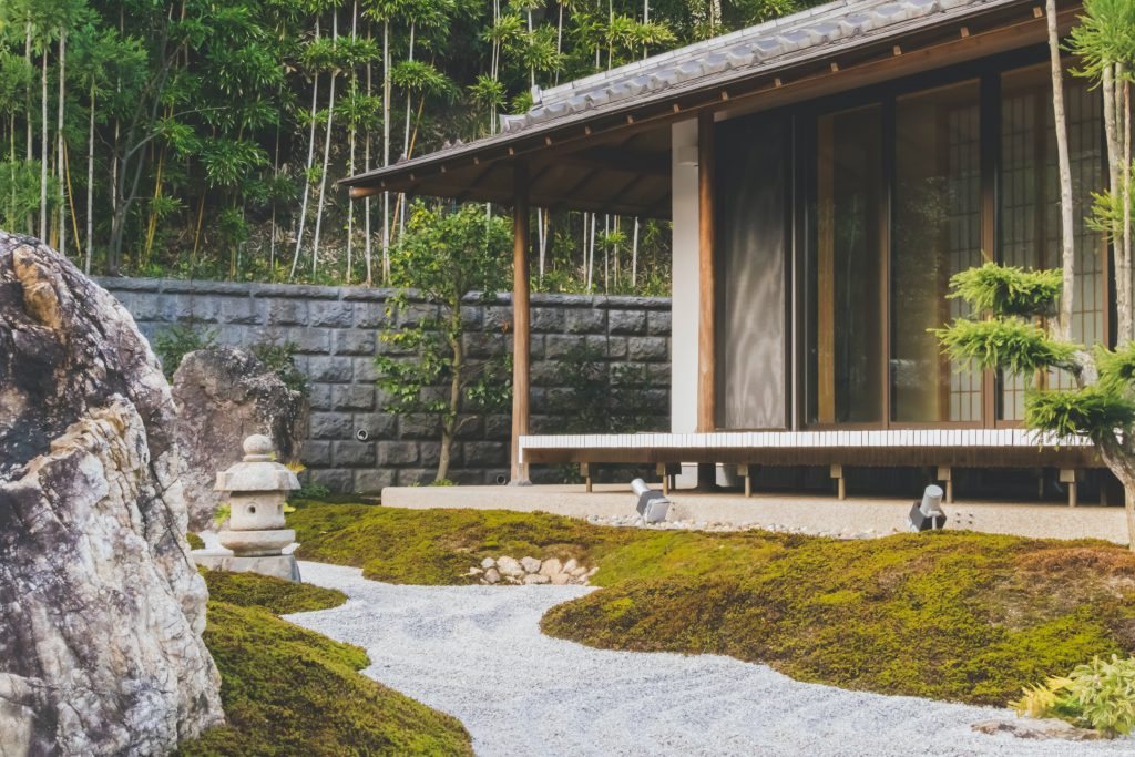 vue sur extérieur pour ambiance zen