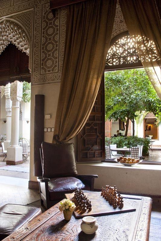 Décoration intérieure marocaine traditionnelle