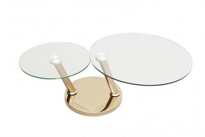 Table basse acier cuivre