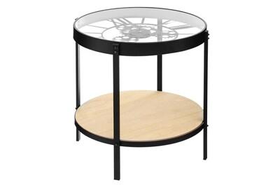 TABLE BASSE HORLOGE