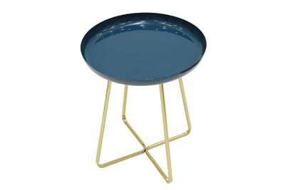 TABLE BASSE PLATEAU ROND
