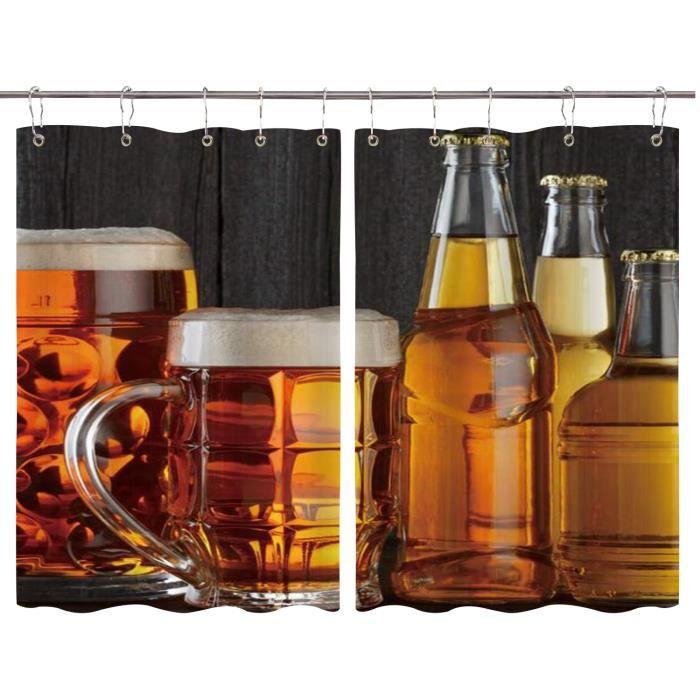 rideaux courts pour cuisine Beer