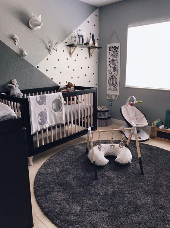 chambre de bébé déco calme